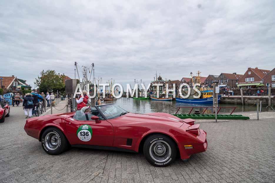 Automythos | 11. Hamburg Berlin Klassik 2018 | 136 | Werner Krüger & Dagmar Peters | Chevrolet Corvette