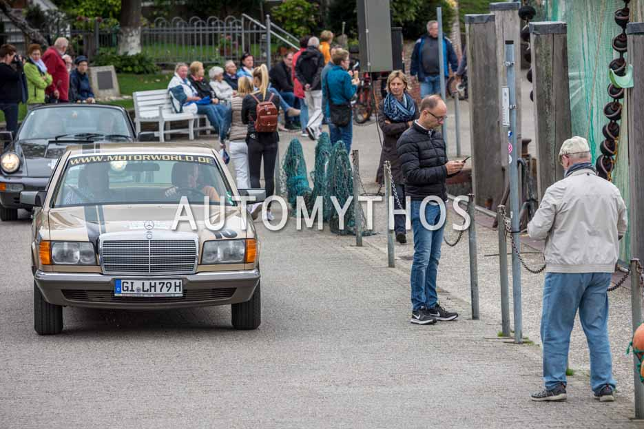 Automythos | 11. Hamburg Berlin Klassik 2018 | 146 | Günther Frauenkron & Joachim Klasen | Mercedes-Benz 380 SE