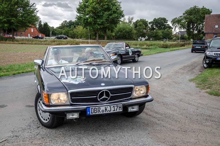 Automythos | 11. Hamburg Berlin Klassik 2018 | 148 | Jörn Kalweit & Kristina Kalweit | Mercedes-Benz 500 SL