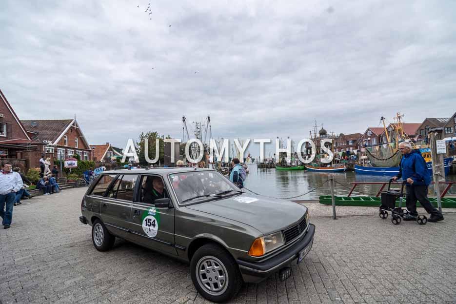 Automythos | 11. Hamburg Berlin Klassik 2018 | 154 | Oliver Haupt & Patricia Scherf | Peugeot 305 Break
