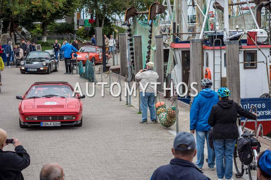 Automythos | 11. Hamburg Berlin Klassik 2018 | 158 | Armin Rössner & Dr. Leonore Jahn | Ferrari 328 GTS
