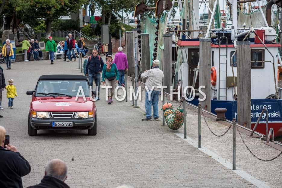 Automythos | 11. Hamburg Berlin Klassik 2018 | 164 | Wilhelm Peinemann & Sonja Peinemann | Saab 900 Cabriolet