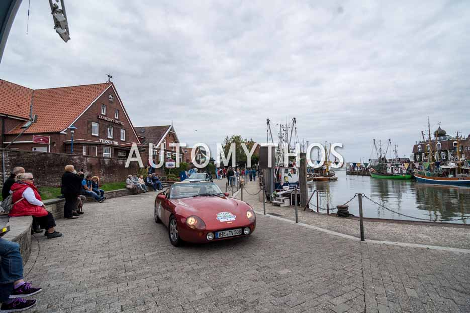 Automythos | 11. Hamburg Berlin Klassik 2018 | 170 | Rolf Mach & Dr. Heike Rieger | TVR Griffith 500