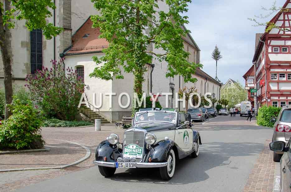 Automythos | 7. Bodensee Klassik 2018 | 1 | Stefan Jochum & Ulli Jochum | Mercedes-Benz 170 V Cabriolet