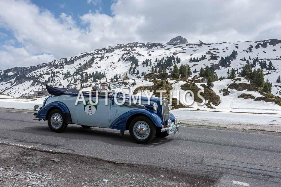 Automythos | 7. Bodensee Klassik 2018 | 5 | Christian Köppen & Gabriele Köppen | Opel Super 6 Cabriolet