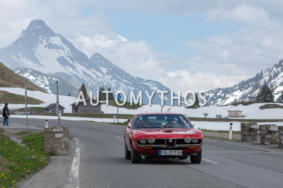 Automythos | 7. Bodensee Klassik 2018 | 8 | Matthias Benz & Serkan Arslan | Alfa Romeo Montreal