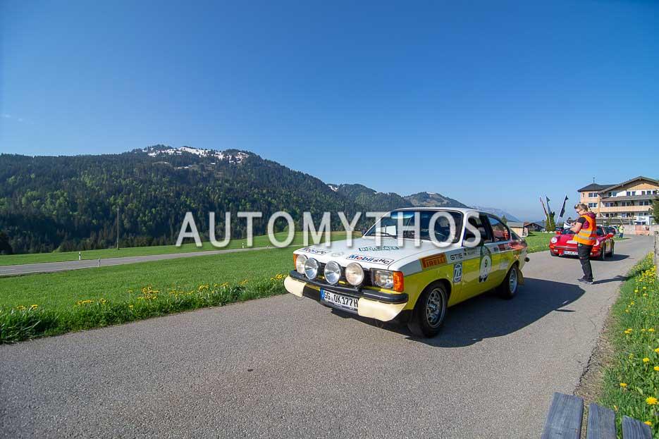Automythos | 7. Bodensee Klassik 2018 | 9 | Dr. Jochen Mayer & Tobias Franzke | Opel Kadett C GT/E