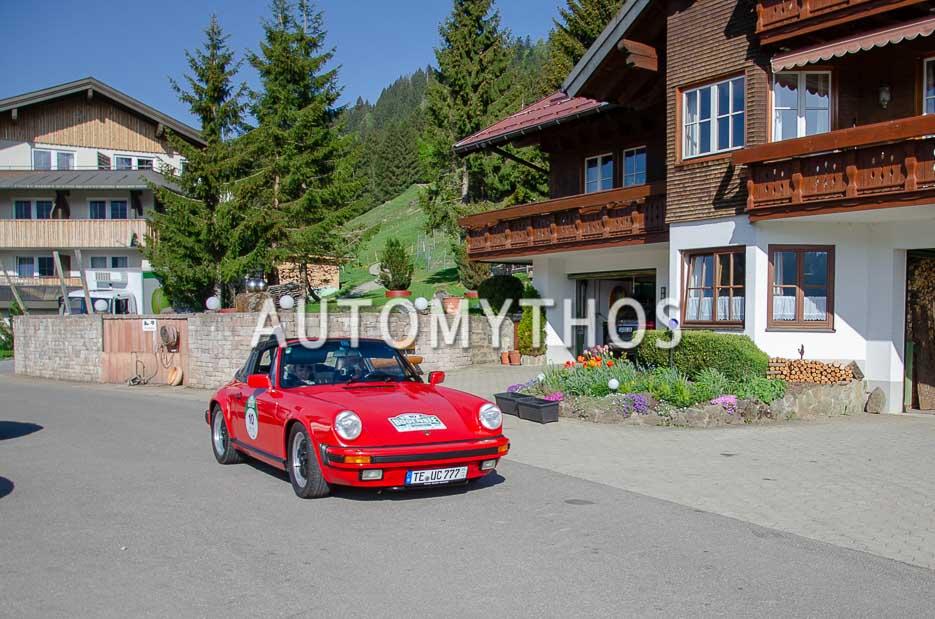 Automythos   7. Bodensee Klassik 2018   10   Uwe Coßmann & Ute Coßmann   Porsche 911 Targa