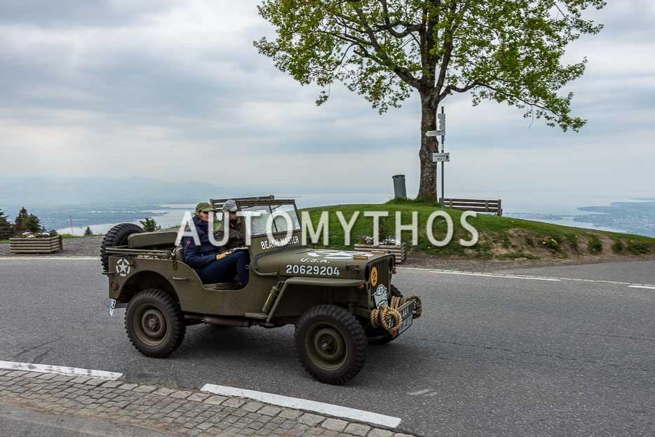 Automythos | 7. Bodensee Klassik 2018 | 12 | Florian Weiss & Wiebke Sonnenburg-Weiss | Willys Overland MB