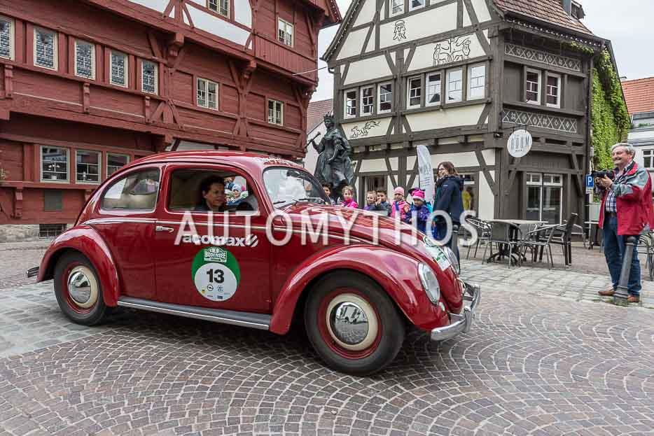 Automythos | 7. Bodensee Klassik 2018 | 13 | Dr. Rolf W.-Seifart & Heike Seifart | Volkswagen Käfer