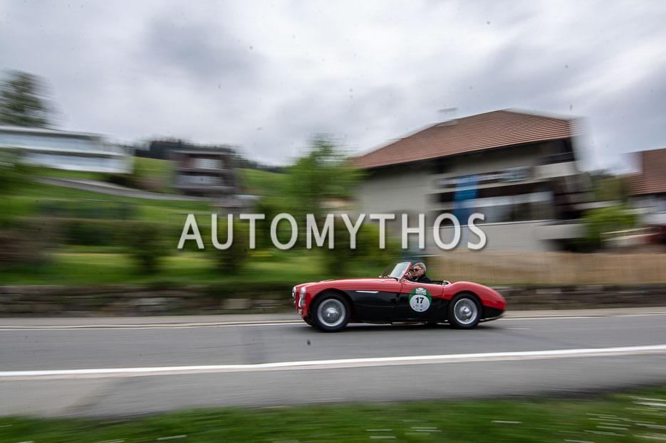Automythos | 7. Bodensee Klassik 2018 | 17 | Andreas Bickel & Bernhard Sonderer | Austin-Healey 100L BN1