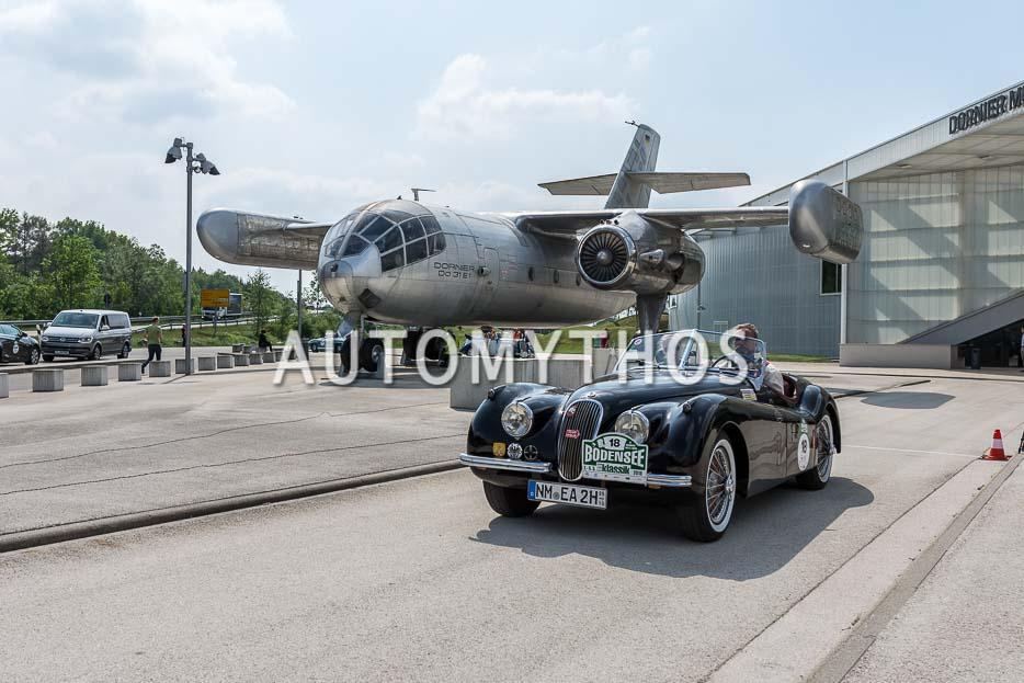 Automythos | 7. Bodensee Klassik 2018 | 18 | Dr. Eberhard Arnold & Marie Theres Arnold | Jaguar XK120 OTS