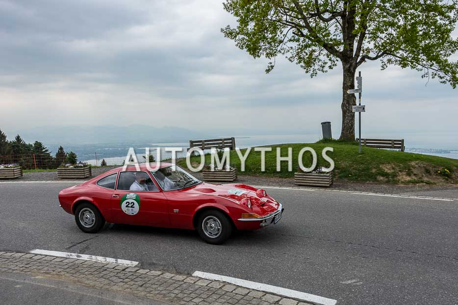 Automythos | 7. Bodensee Klassik 2018 | 22 | Patrick Munsch & Andreas May | Opel GT