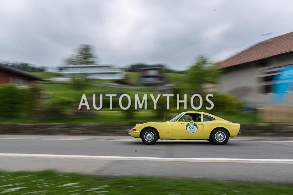 Automythos | 7. Bodensee Klassik 2018 | 23 | Ludwig Trepte & Bernd Schweickard | Opel GT
