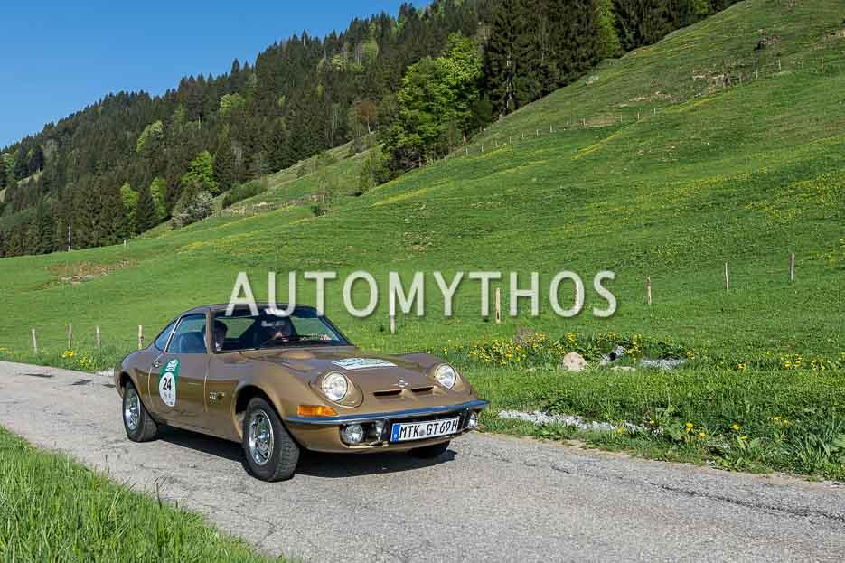 Automythos | 7. Bodensee Klassik 2018 | 24 | Joachim Winkelhock & Kathrin Obry | Opel GT