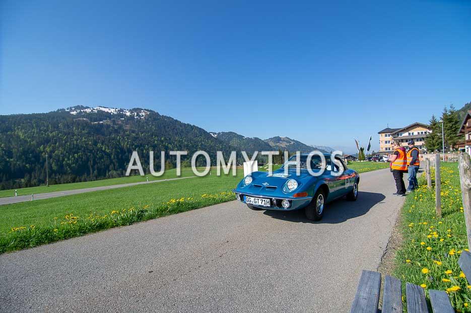 Automythos | 7. Bodensee Klassik 2018 | 25 | Harald Hamprecht & Tom Drechsler | Opel GT