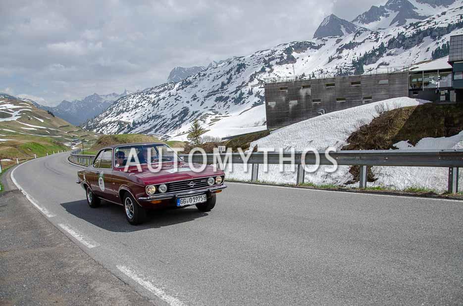 Automythos | 7. Bodensee Klassik 2018 | 27 | Jörg Kaffanke & Petra Kaffanke | Opel Manta A 1900 S
