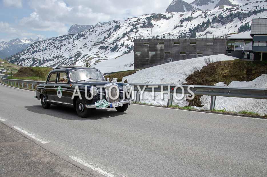 Automythos | 7. Bodensee Klassik 2018 | 28 | Reinhard Schade & Tina Gorschlüter | Mercedes-Benz 180