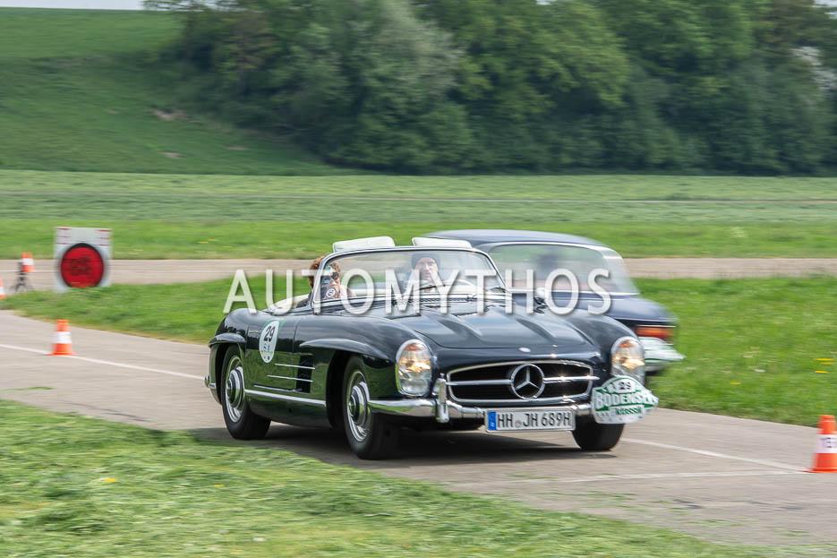 Automythos | 7. Bodensee Klassik 2018 | 29 | Stephan Schlüter & Manuela Schlüter | Mercedes-Benz 300 SL