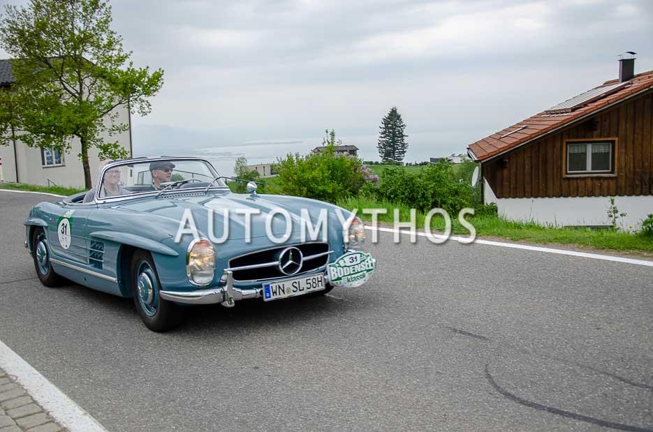 Automythos | 7. Bodensee Klassik 2018 | 31 | Dr. Jürgen Geißinger & Dr. Walter Strommer | Mercedes-Benz 300 SL