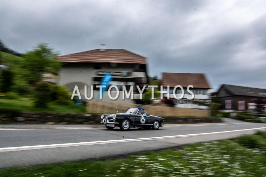 Automythos | 7. Bodensee Klassik 2018 | 32 | Milko Agueci & Yvonne Grabher-Agueci | Alfa Romeo Giulietta 1300