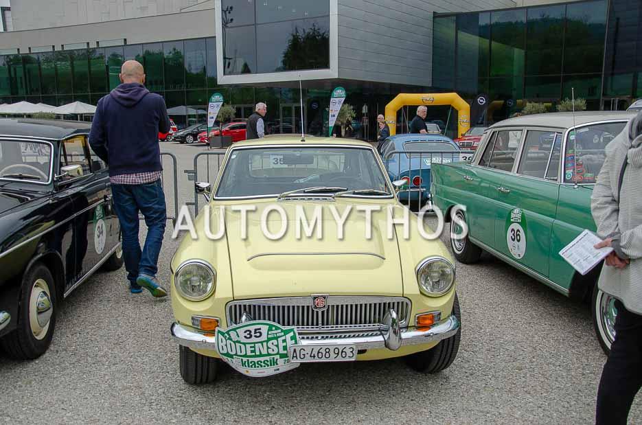 Automythos | 7. Bodensee Klassik 2018 | 35 | Thomas Valko & Peter Habegger | MG C GT