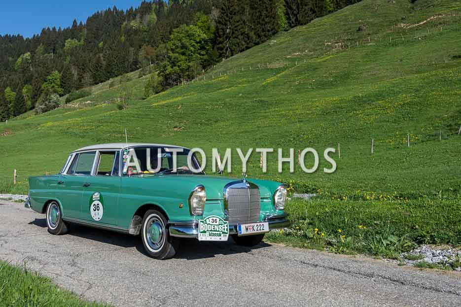 Automythos | 7. Bodensee Klassik 2018 | 36 | Dr. Norbert Griesmayr & Ferdinand Baumgartner | Mercedes-Benz 220 Sb