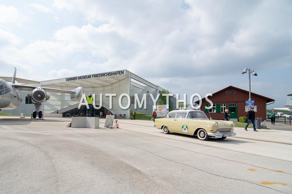 Automythos | 7. Bodensee Klassik 2018 | 38 | Hans-Dieter Weiland & Philipp Geenen | Opel Rekord P1 1500