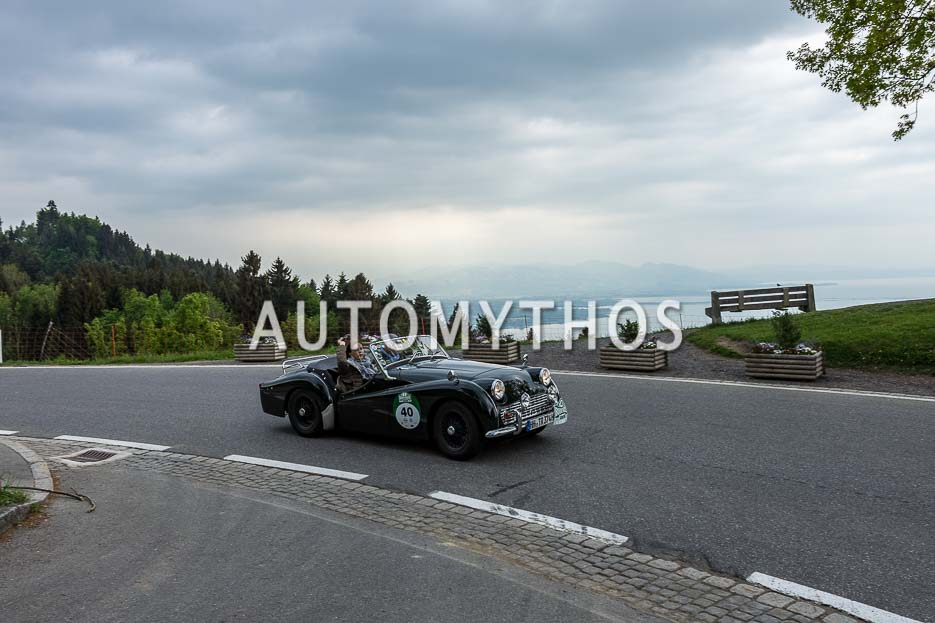 Automythos | 7. Bodensee Klassik 2018 | 40 | Stefan Wulff & Dr. Malte Klarczyk | Triumph TR3A