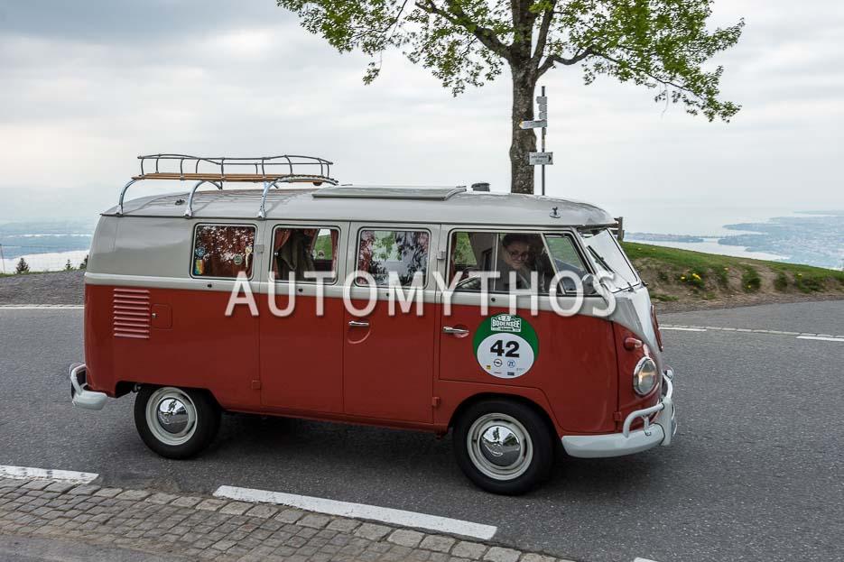 Automythos | 7. Bodensee Klassik 2018 | 42 | Steffen Fritz & Tanja Fritz | Volkswagen T1