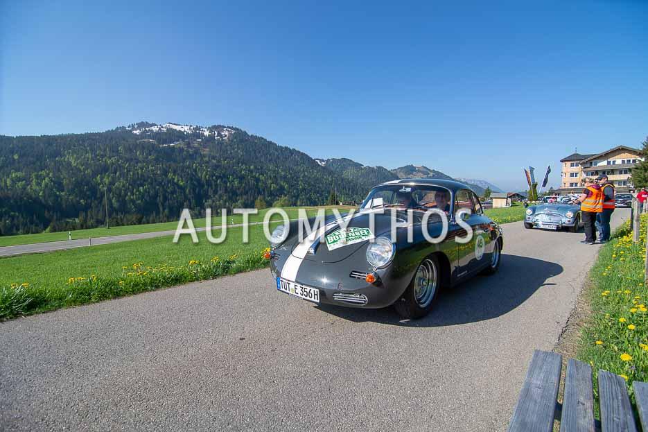 Automythos | 7. Bodensee Klassik 2018 | 45 | Heinrich Engesser & Sylvia Engesser | Porsche 356 B