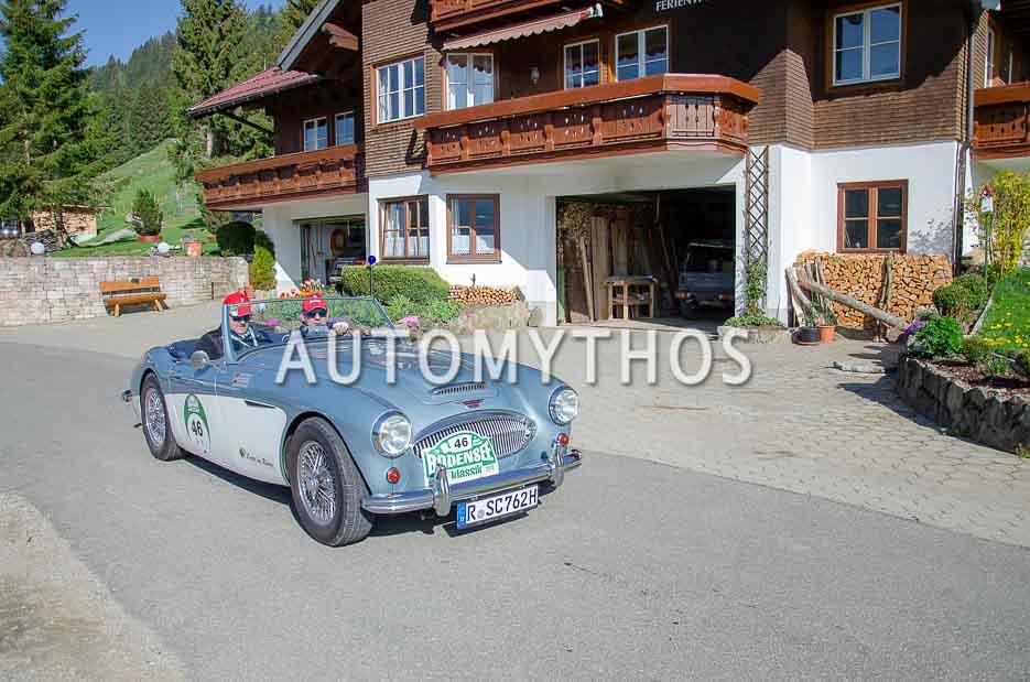 Automythos | 7. Bodensee Klassik 2018 | 46 | Christian Seidl & Christoph Herr | Austin-Healey 3000 Mk II BT7