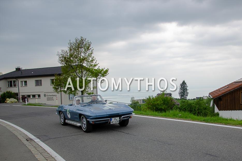 Automythos | 7. Bodensee Klassik 2018 | 48 | Dirk Lehmann & Dieter Lehmann | Chevrolet Corvette Sting Ray Convertible