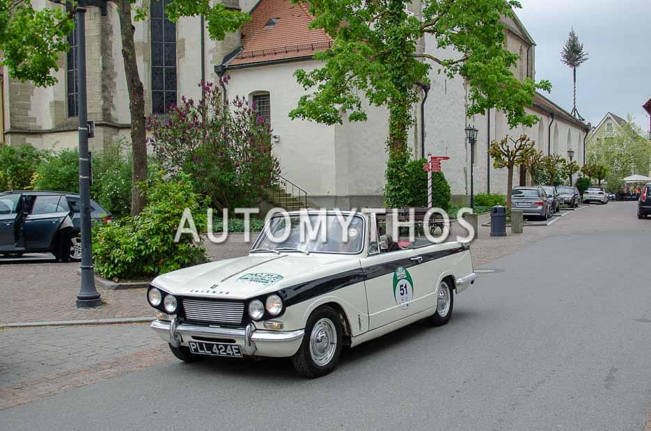 Automythos | 7. Bodensee Klassik 2018 | 51 | Andrew Dyckhoff & Willem Unger | Triumph Vitesse