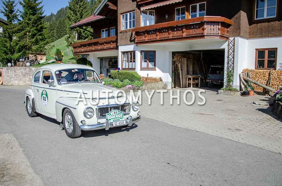 Automythos | 7. Bodensee Klassik 2018 | 52 | Walter Widler & Albert Widler | Volvo PV544 Sport