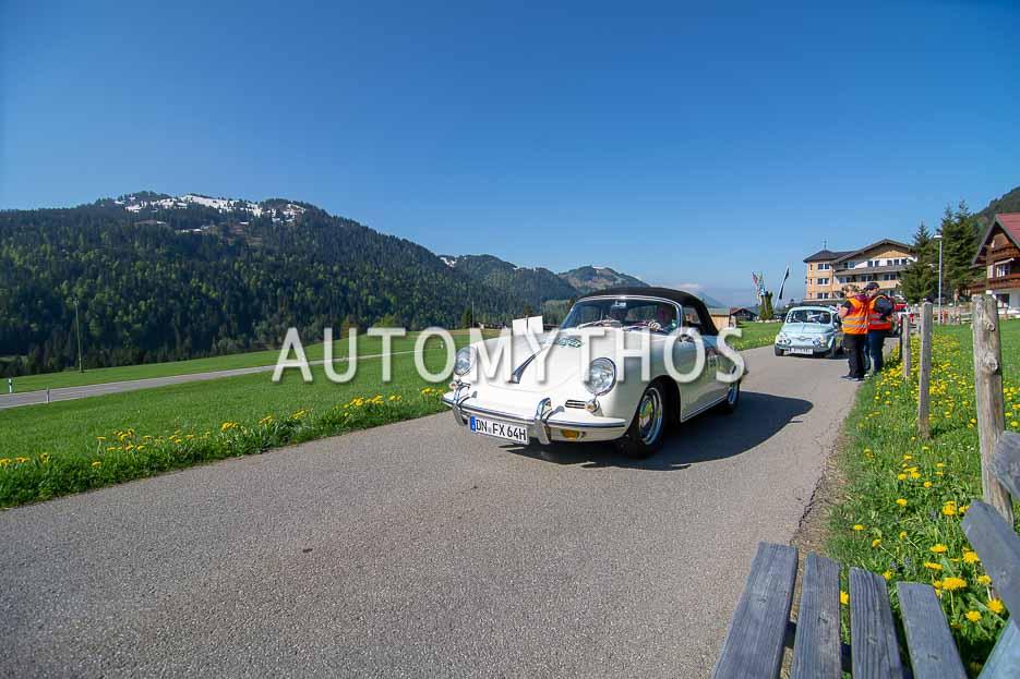 Automythos | 7. Bodensee Klassik 2018 | 56 | Werner Reifferscheidt & Wolfgang Obladen | Porsche 356 SC Cabriolet