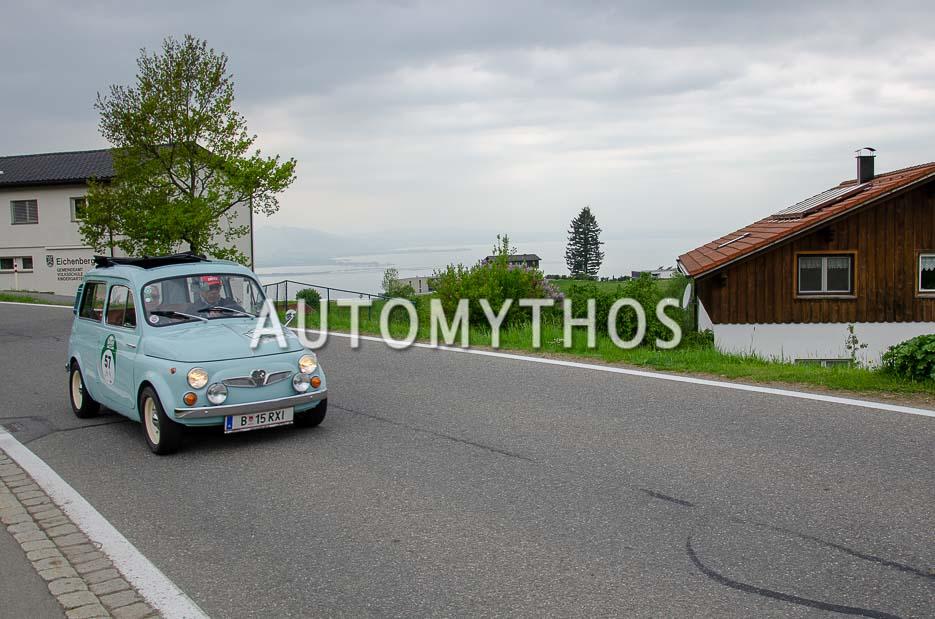 Automythos | 7. Bodensee Klassik 2018 | 57 | Michael Rauth & Evelyn Rauth | Steyr-Puch 700 C