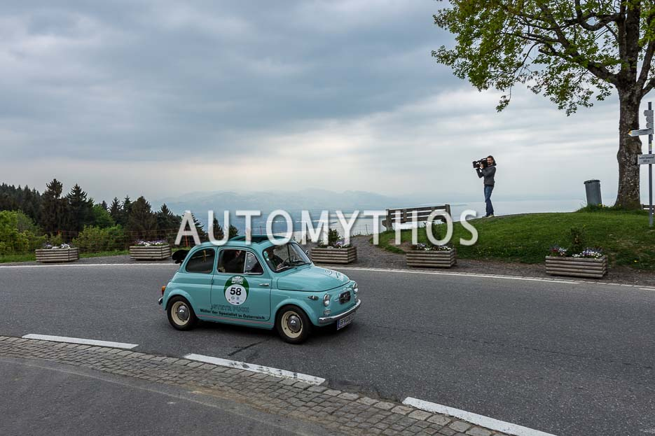 Automythos | 7. Bodensee Klassik 2018 | 58 | Josef Müller & Mercedes Matzek | Steyr-Puch 500