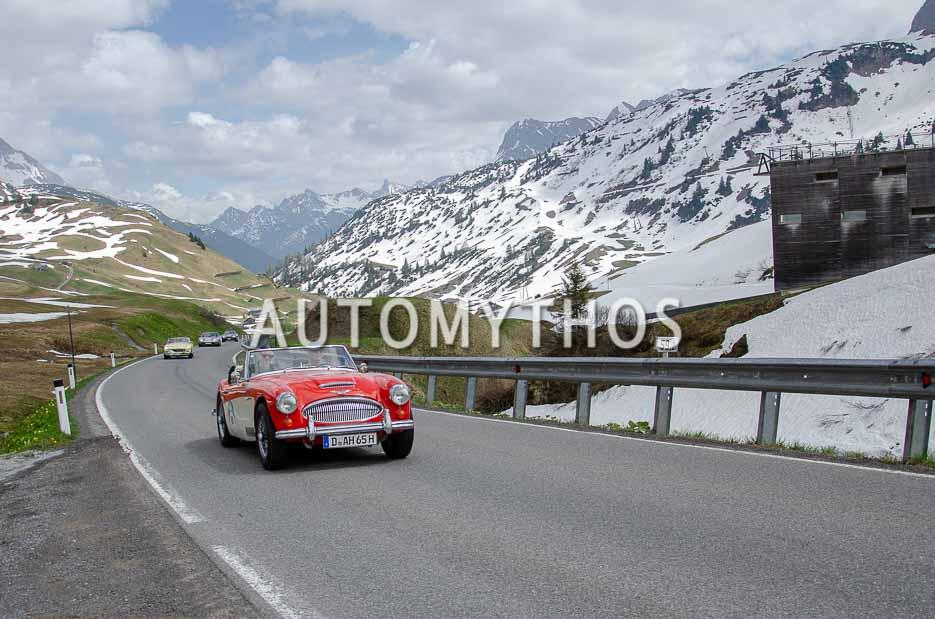 Automythos | 7. Bodensee Klassik 2018 | 61 | Peter Vinnemeier & Lutz Schmelter | Austin-Healey 3000 Mk III BJ8