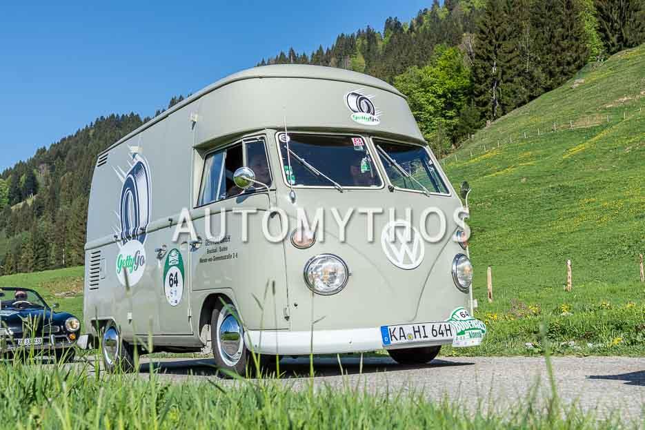 Automythos | 7. Bodensee Klassik 2018 | 64 | Clemens Grauff & Alexandra Kaiser | Volkswagen T1