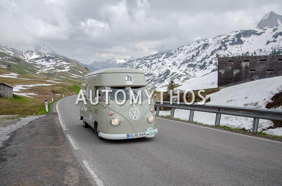 Automythos   7. Bodensee Klassik 2018   64   Clemens Grauff & Alexandra Kaiser   Volkswagen T1