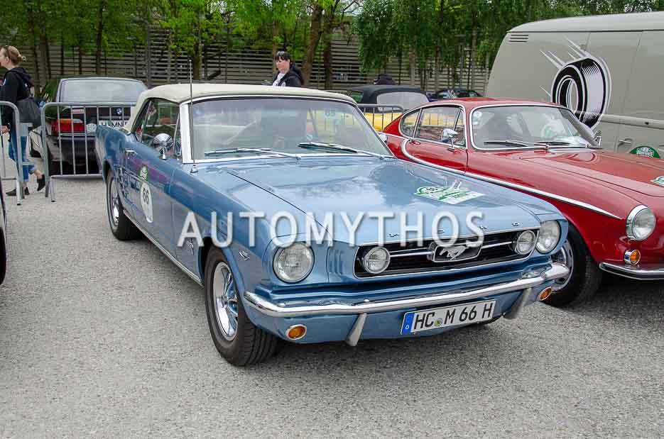 Automythos | 7. Bodensee Klassik 2018 | 66 | Falk Scheibenpflug & Julia Scheibenpflug | Ford Mustang Convertible