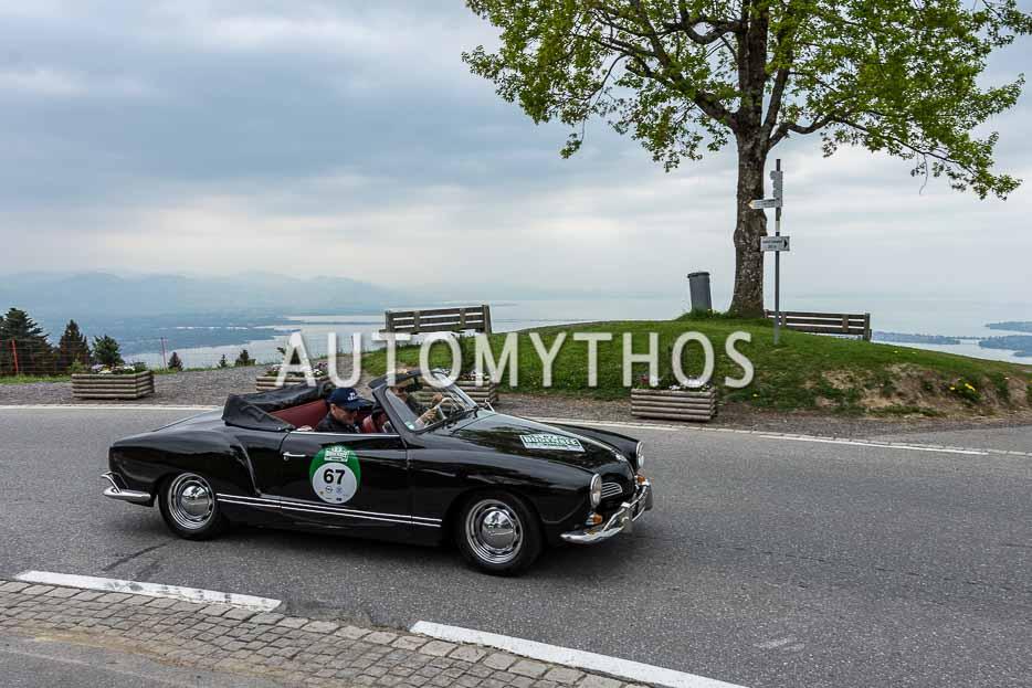 Automythos | 7. Bodensee Klassik 2018 | 67 | Annekathrin Dünki & Marco Dünki | Volkswagen Karmann-Ghia
