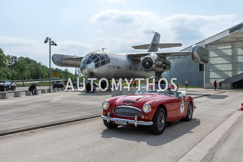 Automythos | 7. Bodensee Klassik 2018 | 69 | Kurt Zehender & Ralf Kirstein | Austin-Healey 3000 Mk III