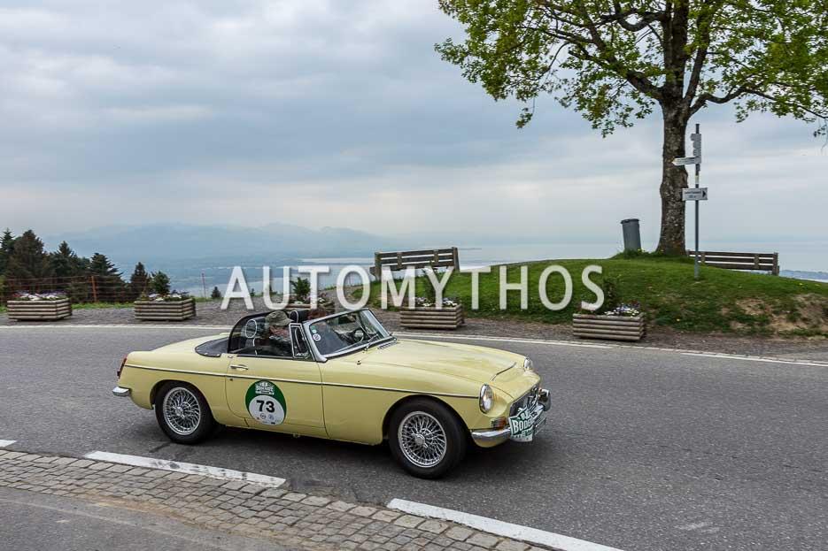 Automythos | 7. Bodensee Klassik 2018 | 73 | Peter Baumgartner & Cristina Fernandez | MG MGC