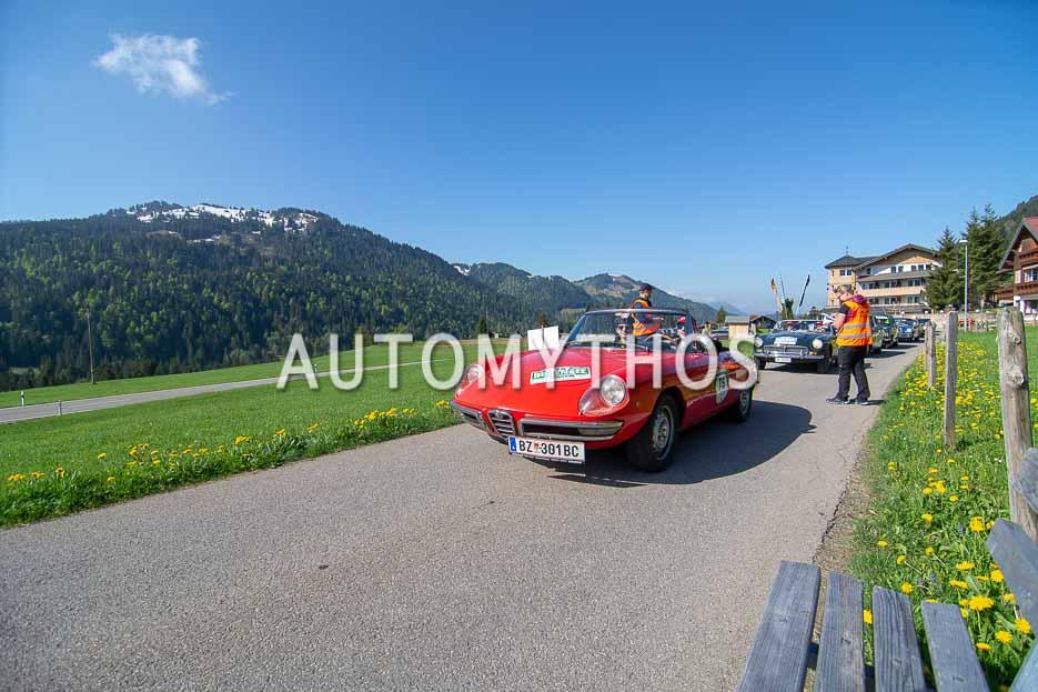 Automythos | 7. Bodensee Klassik 2018 | 75 | Adriano Agueci & Sebastian Wachter | Alfa Romeo Spider 1750 Veloce