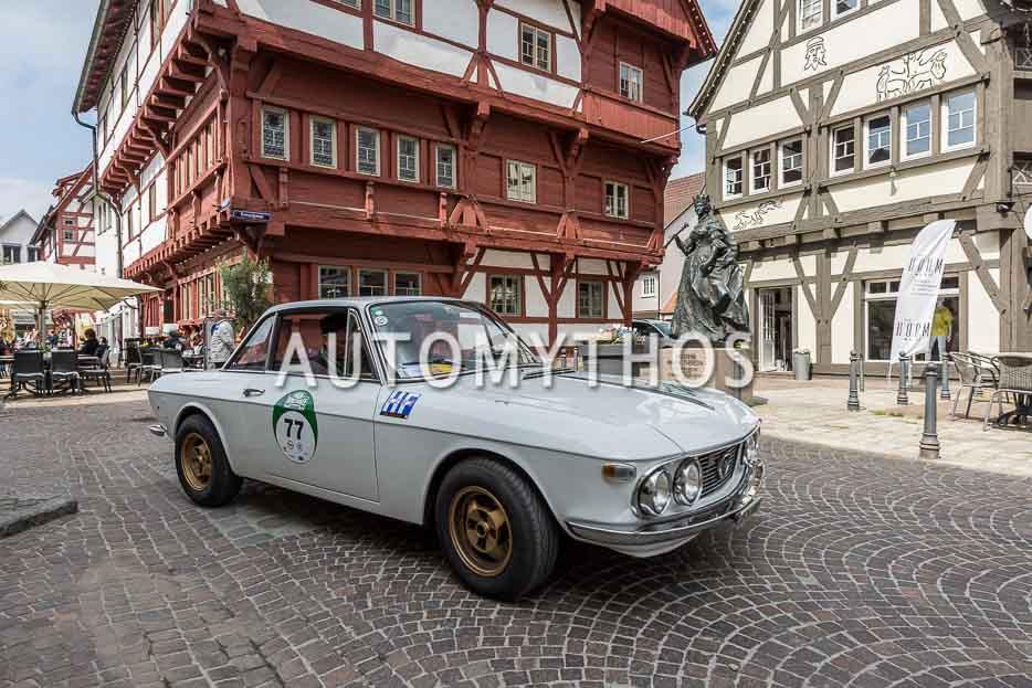 Automythos | 7. Bodensee Klassik 2018 | 77 | Hansjörg Grützmacher & Volker Grützmacher | Lancia Fulvia 1.3 S Rallye (HF)