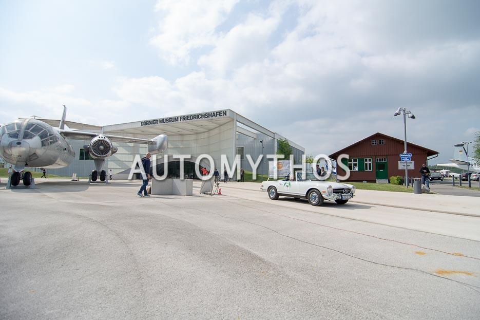 Automythos | 7. Bodensee Klassik 2018 | 78 | Hermann Diefenbach & Silvia Diefenbach | Mercedes-Benz 280 SL