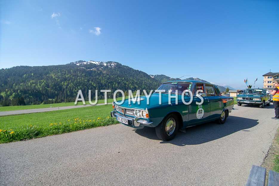 Automythos | 7. Bodensee Klassik 2018 | 82 | Rainer Staudt & Ursula Schmidt-Staudt | Rover 3500 P6