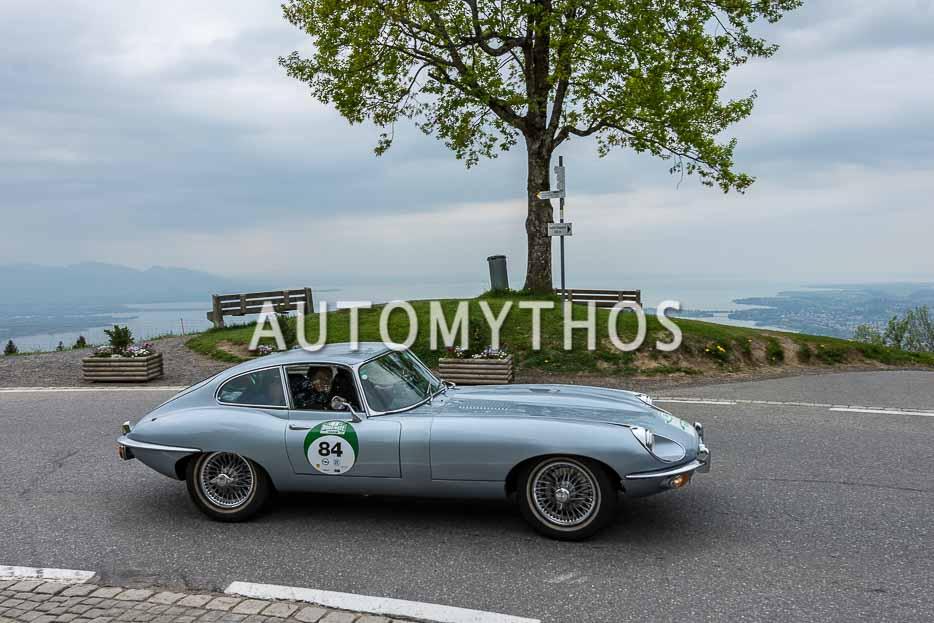 Automythos | 7. Bodensee Klassik 2018 | 84 | Frank Hippert & Jeanne Klepper | Jaguar E-Type Series 2